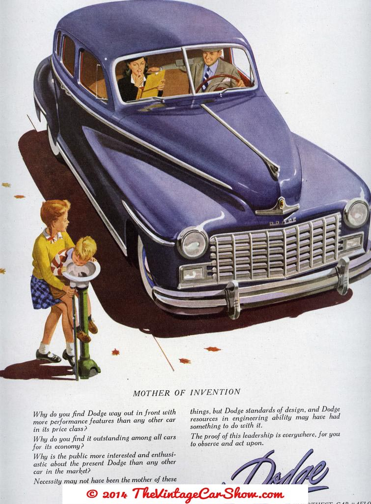 1950s Advertisments The Vintage Car Show