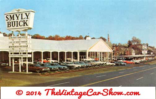 vintage car dealership