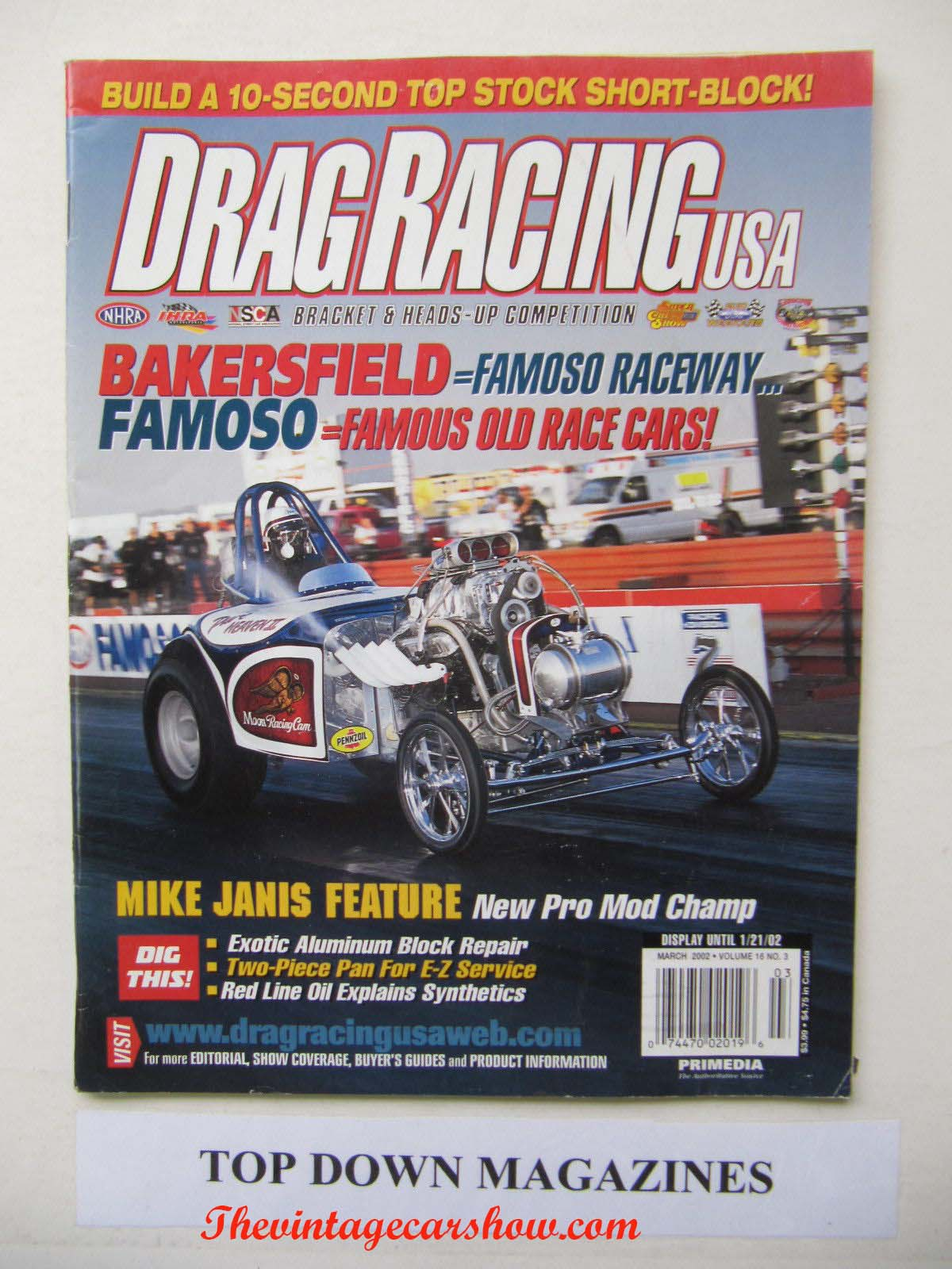 Drag Racing Mags | The Vintage Car Show