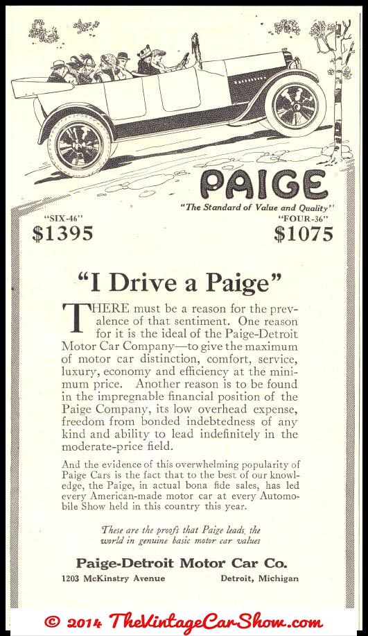 Foreign car magazine ads | The Vintage Car Show