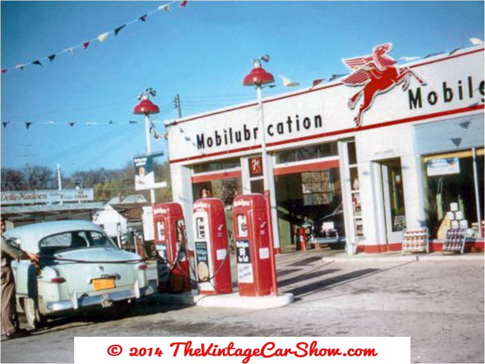 Gas Stations | The Vintage Car Show
