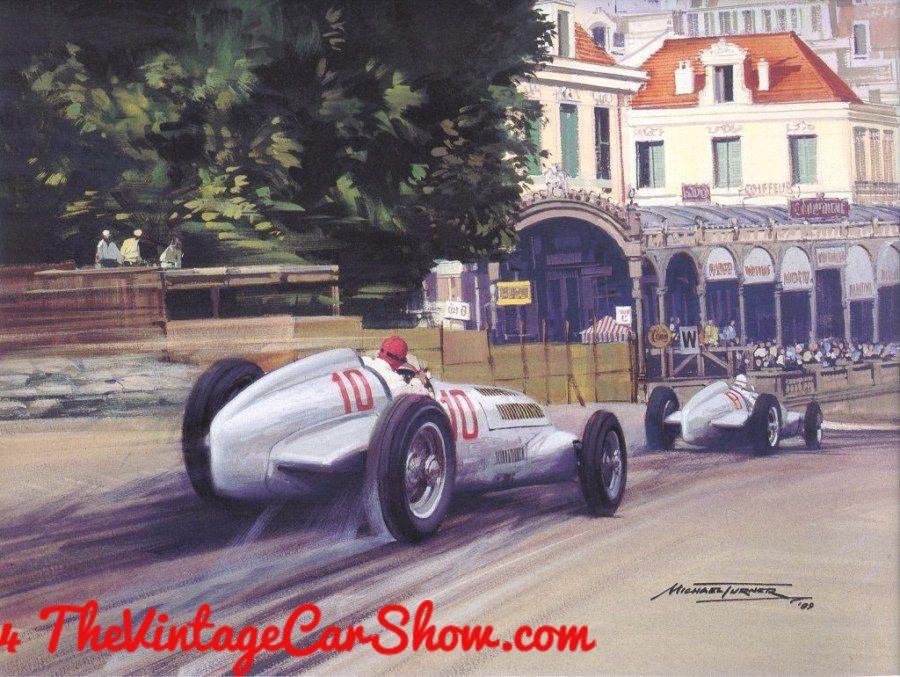 Grand Prix Art | The Vintage Car Show