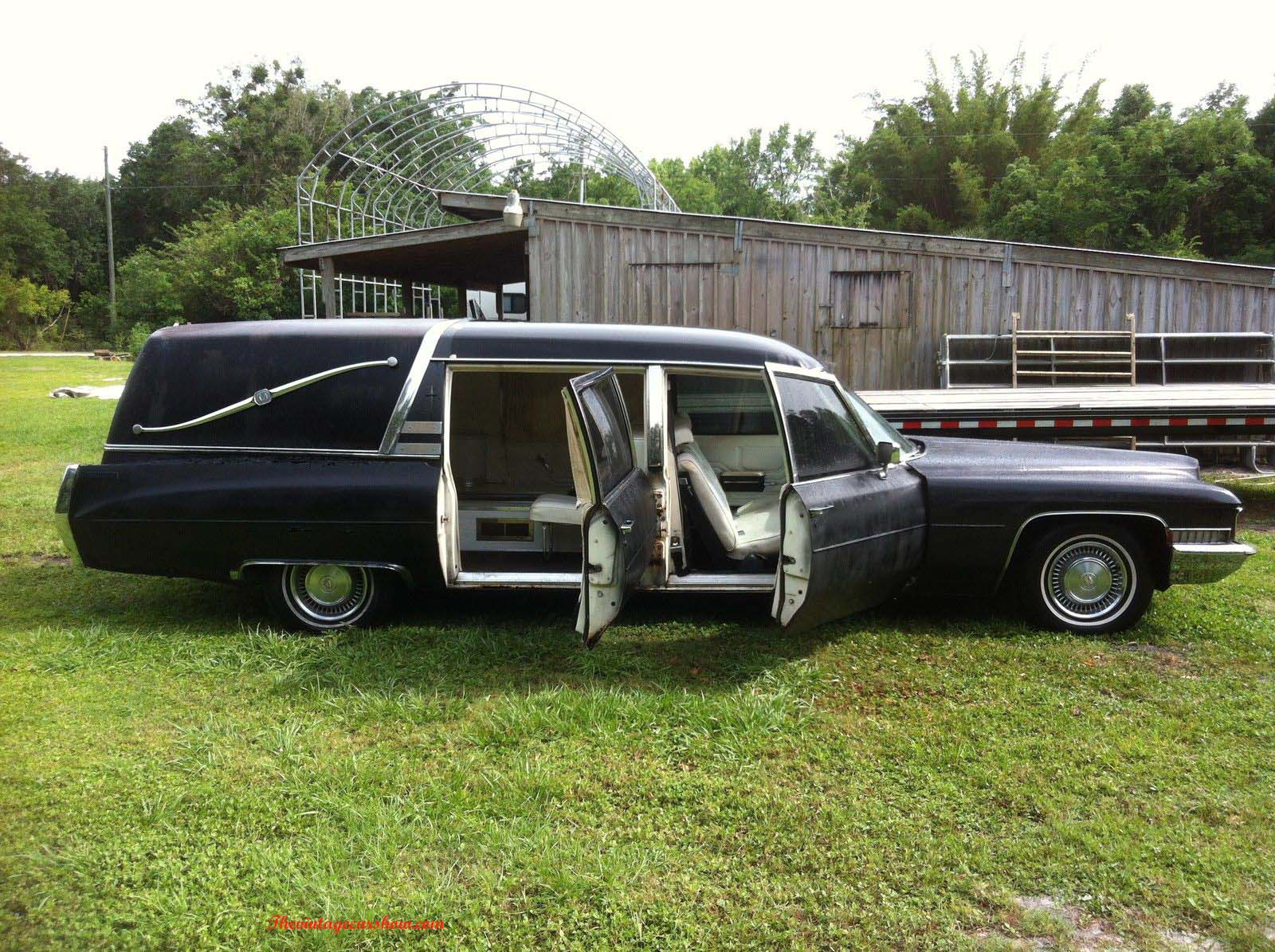 vintage hearses for