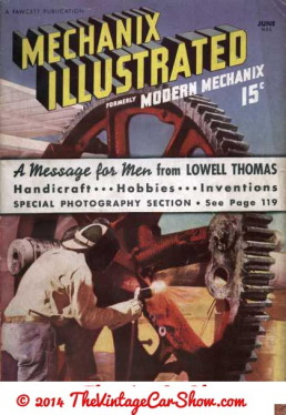 VINTAGE MECHANIX ILLUSTRATED MAGAZINE JUNE 1959 GREAT COVER !! THE MOON