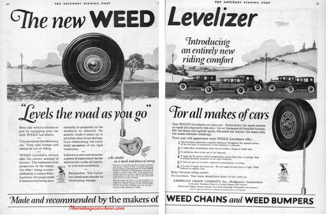 Misc Car Parts Ads | The Vintage Car Show