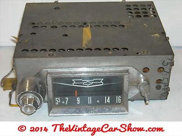 1957-chevrolet-bel-air-am-car-radio-deck-receiver