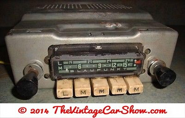 blaupunkt-vintage-car-pushbutton-radio-or-for-parts