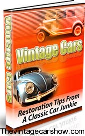 Restortaion tips from The Vintage Car Show.get this free book by subscribing to our sites